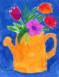Chaverim Shel Shalom's Paint Night