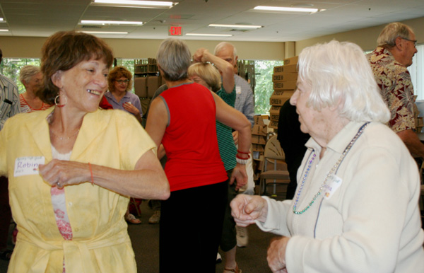 A Joyful Morning at the Memory Café