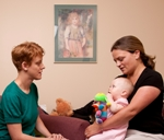 Helping Mothers and Babies Form Healthy Relationships
