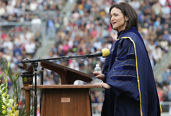 Sheryl Sandberg's Speech: Generation Gap or Media Gap?