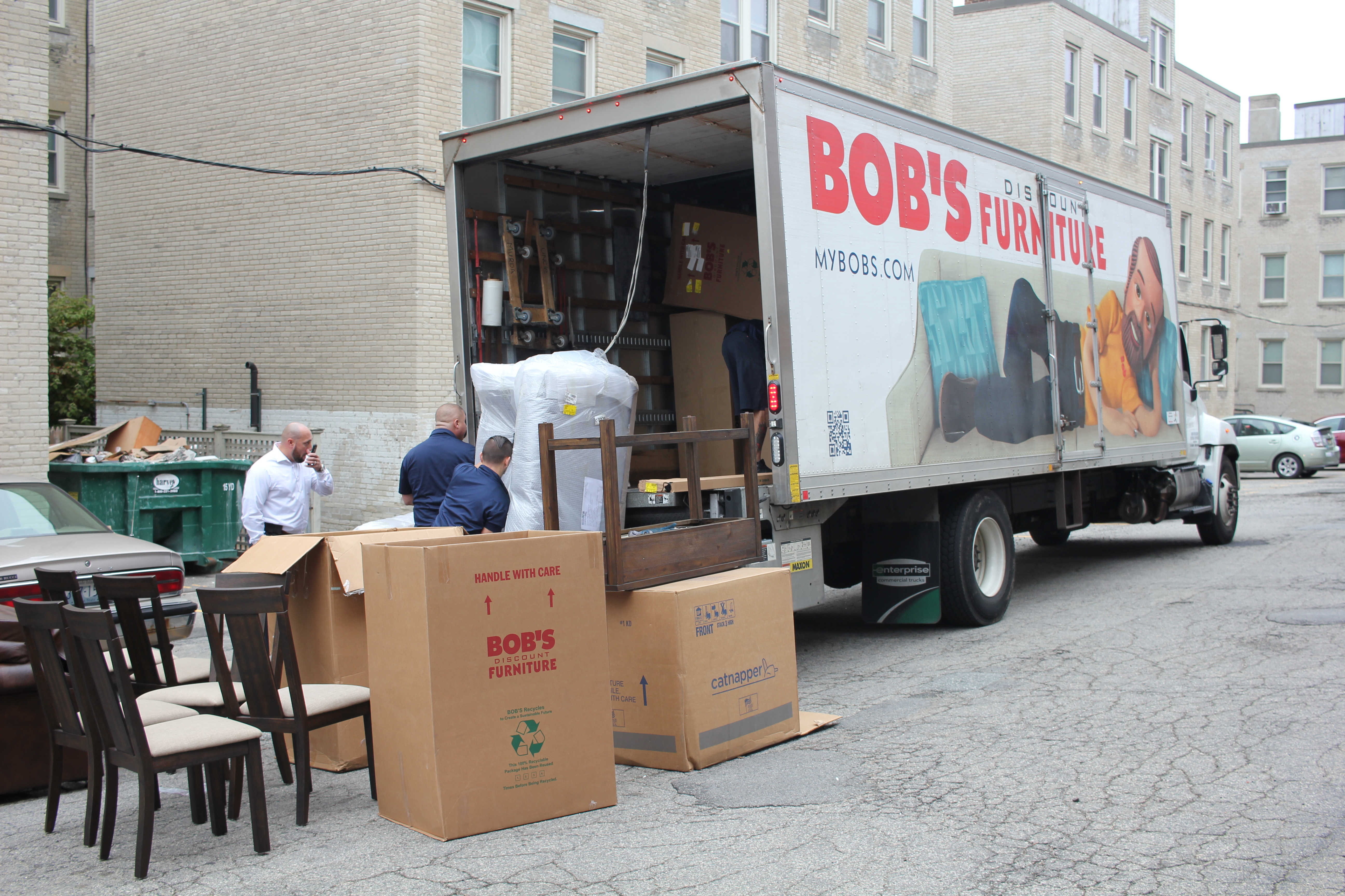 Bob's Discount Furniture Donates to Those in Need