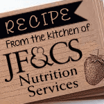Nutrition Services Recipe