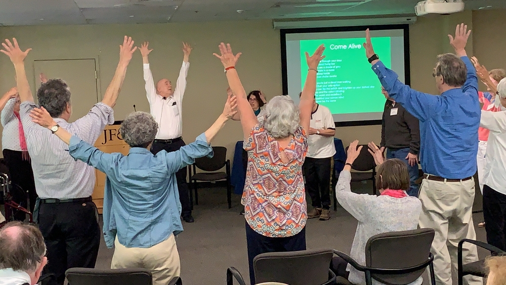Dancing at the Art of Resilience 2019.