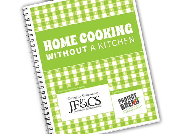 Home Cooking without a Kitchen Cookbook